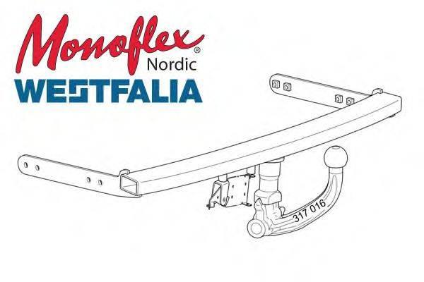 MONOFLEX 305223 Прицепное оборудование