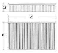 CHAMPION U505606 Воздушный фильтр