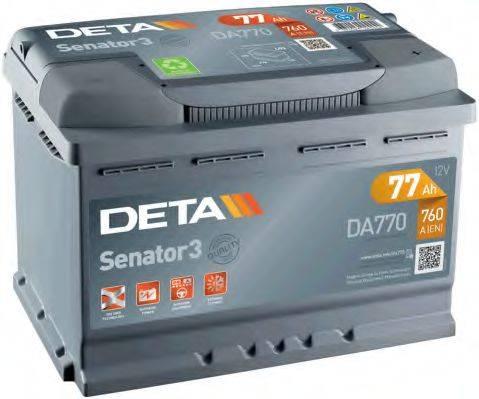 DETA DA770 Аккумулятор автомобильный (АКБ)
