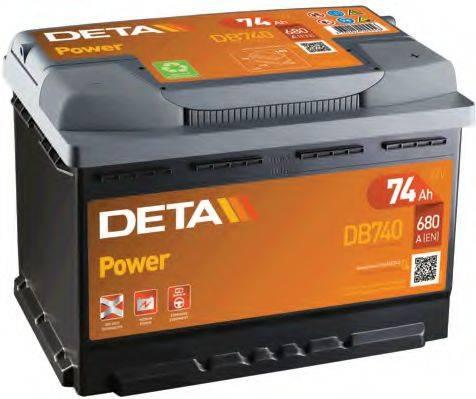 DETA DB740 Аккумулятор автомобильный (АКБ)
