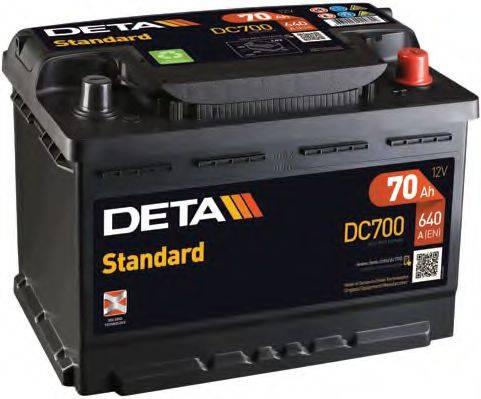 DETA DC700 Аккумулятор автомобильный (АКБ)