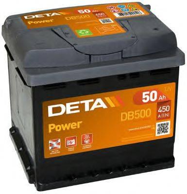DETA DB500 Аккумулятор автомобильный (АКБ)