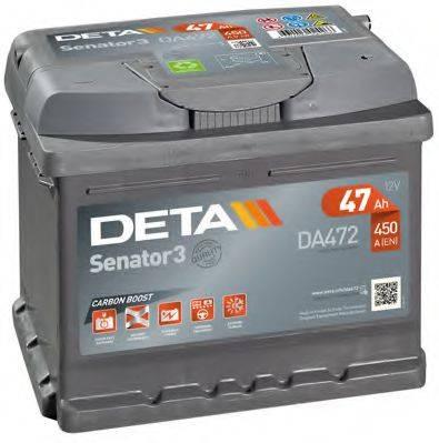 DETA DA472 Аккумулятор автомобильный (АКБ)