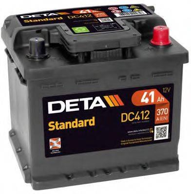 DETA DC412 Аккумулятор автомобильный (АКБ)
