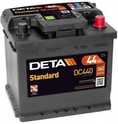 DETA DC440 Аккумулятор автомобильный (АКБ)
