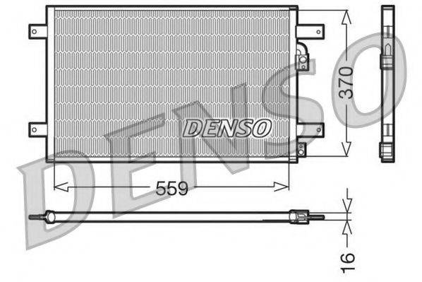 NPS DCN32014 Конденсатор кондиционера