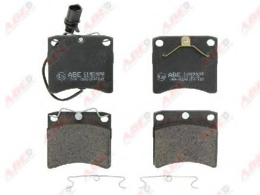 ABE C1W054ABE Тормозные колодки