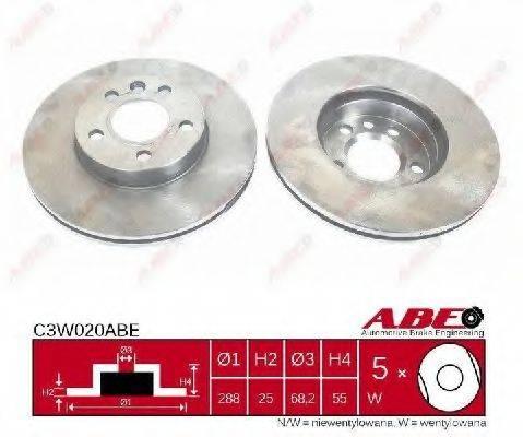 ABE C3W020ABE Тормозной диск