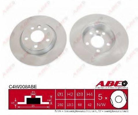 ABE C4W008ABE Тормозной диск