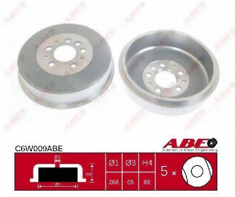 ABE C6W009ABE Тормозной барабан
