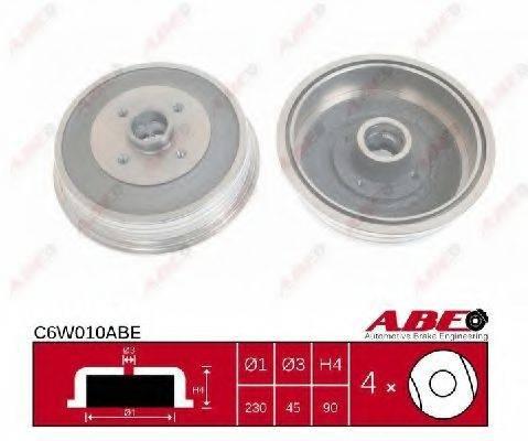 Тормозной барабан ABE C6W010ABE