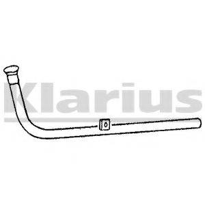 KLARIUS 120210 Труба выхлопного газа