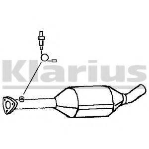 KLARIUS 311723 Конвертор- катализатор