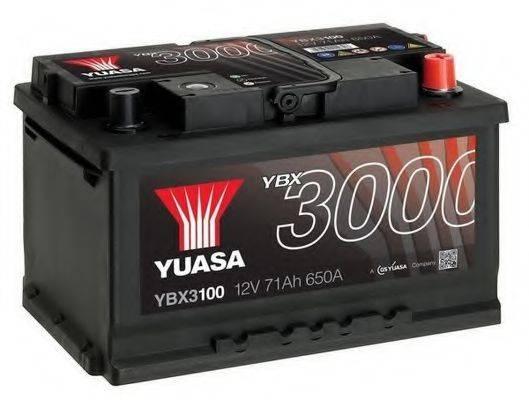 Аккумулятор автомобильный (АКБ) YUASA YBX3100