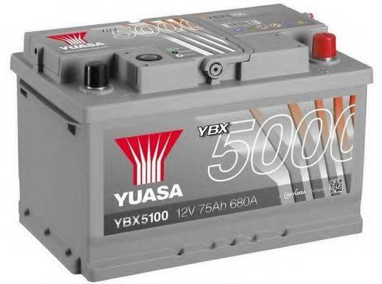 YUASA YBX5100 Аккумулятор автомобильный (АКБ)