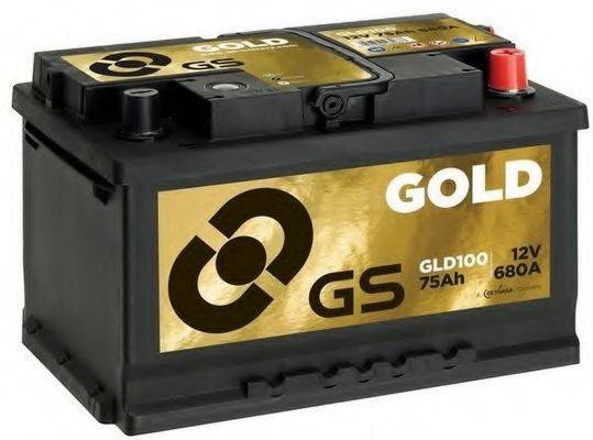 GS GLD100 Аккумулятор автомобильный (АКБ)