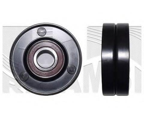 KM INTERNATIONAL FI10870 Натяжной ролик, поликлиновой  ремень