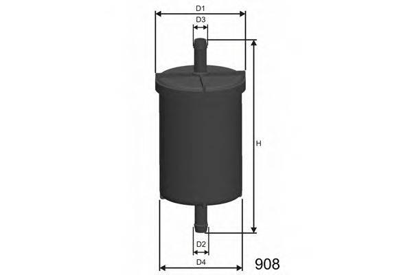 MISFAT E500 Топливный фильтр