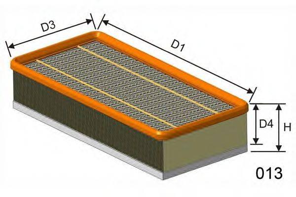 MISFAT P090 Воздушный фильтр