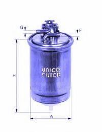 UNICO FILTER FI81734 Топливный фильтр