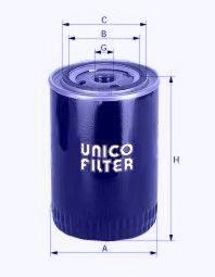 UNICO FILTER LI71235 Фильтр масляный ДВС