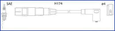 HITACHI 134787 Комплект проводов зажигания