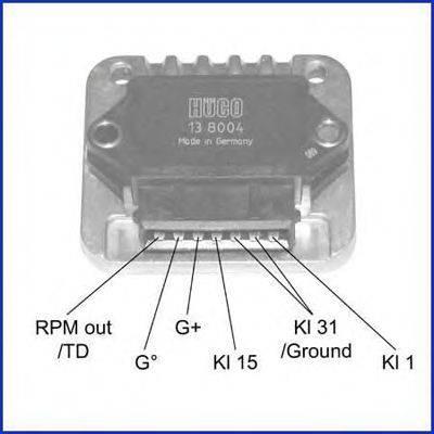 HITACHI 138004 Коммутатор системы зажигания