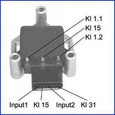 HITACHI 138420 Коммутатор системы зажигания