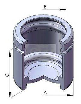 ERT 150566C Поршень, корпус скобы тормоза