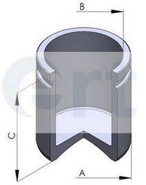ERT 150281C Поршень, корпус скобы тормоза