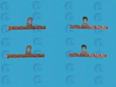 ERT 420005 Комплектующие, колодки дискового тормоза