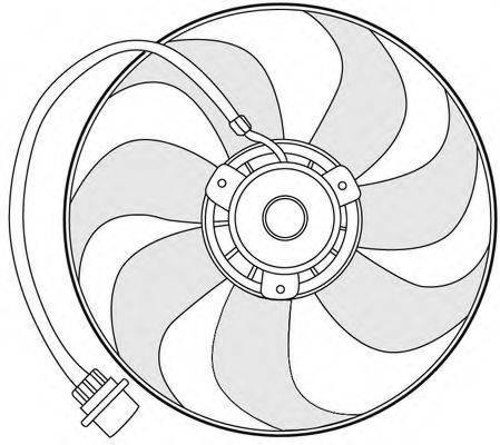 CTR 1209648 Вентилятор системы охлаждения двигателя