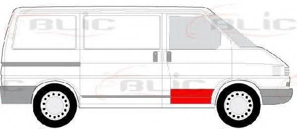 BLIC 6015009558122P Дверь, кузов