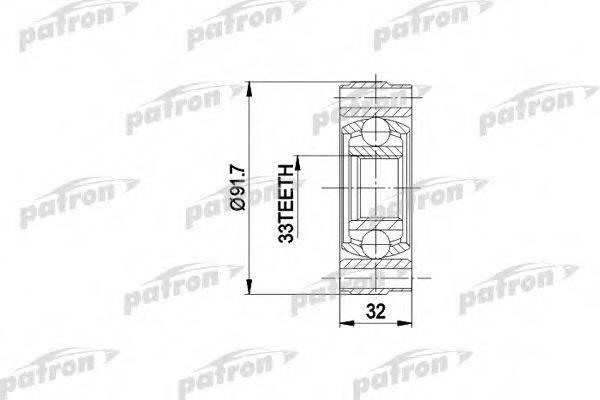 PATRON PCV3003 ШРУС с пыльником