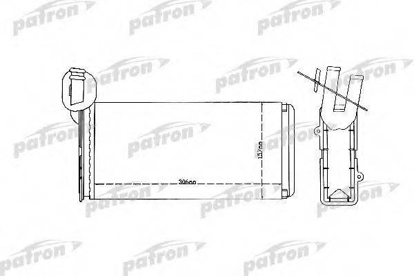 PATRON PRS2079 Радиатор печки