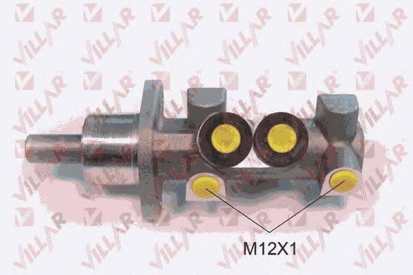 VILLAR 6212353 Главный тормозной цилиндр