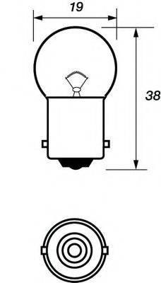 MOTAQUIP VBU245 Лампа накаливания, фонарь указателя поворота; Лампа накаливания, фонарь освещения номерного знака; Лампа накаливания, фара заднего хода; Лампа накаливания, задний гарабитный огонь; Лампа накаливания, oсвещение салона; Лампа накаливания, стояночный / габаритный огонь; Лампа накаливания, дополнительный фонарь сигнала торможения; Лампа, мигающие / габаритные огни