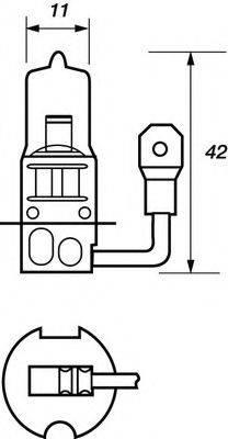 MOTAQUIP VBU453 Лампа накаливания