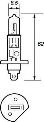MOTAQUIP VBU448 Лампа накаливания