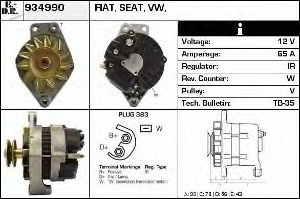 EDR 934990 Генератор