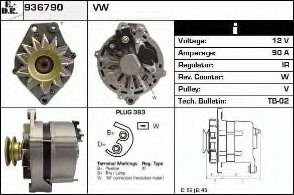 EDR 936790 Генератор