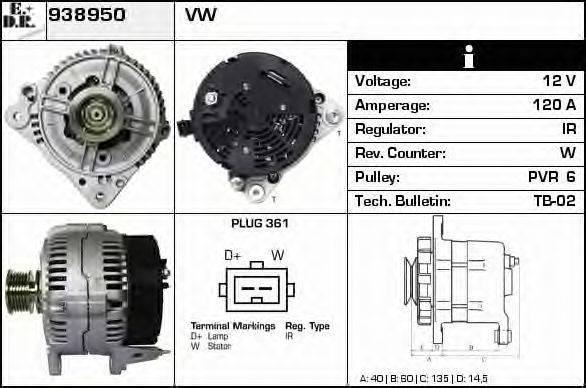 EDR 938950 Генератор