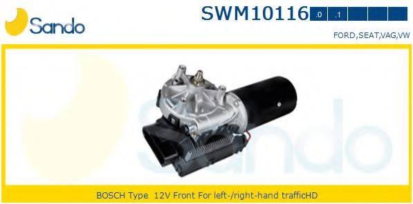 SANDO SWM101160 Двигатель стеклоочистителя