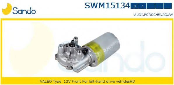 SANDO SWM151340 Двигатель стеклоочистителя
