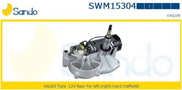 SANDO SWM153041 Двигатель стеклоочистителя