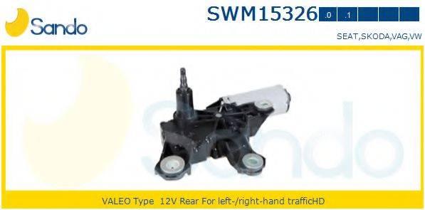 SANDO SWM153260 Двигатель стеклоочистителя