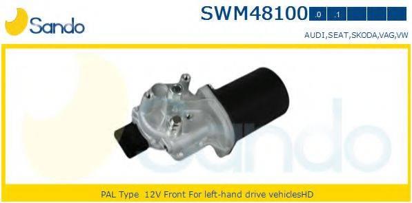 SANDO SWM481000 Двигатель стеклоочистителя