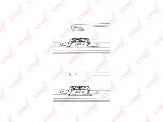 LYNXAUTO LW400 Щетка стеклоочистителя