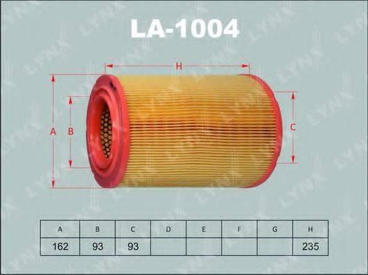 LYNXAUTO LA1004 Воздушный фильтр