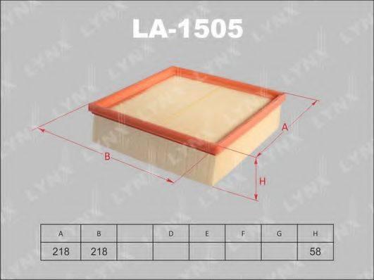 LYNXAUTO LA1505 Воздушный фильтр